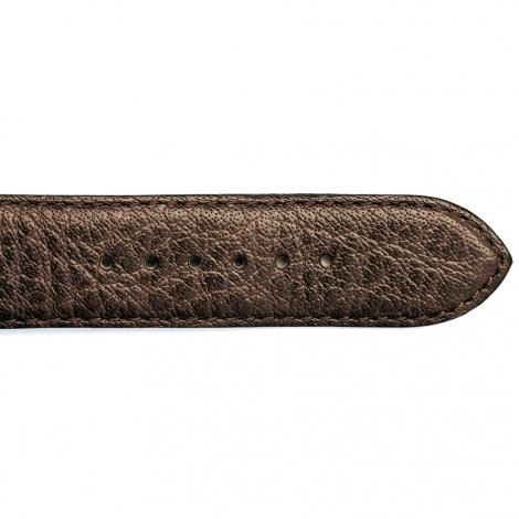 Bracelet Montre cuir de Buffle Marron Mayla - 15619-03