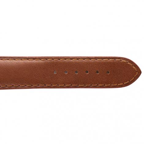 Bracelet Montre en cuir de Taureau Marron clair - Venus - 15001-35