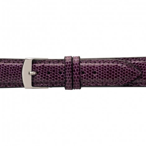 Bracelet Montre Lézard Sellier Bordeaux