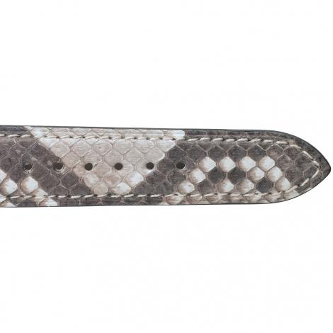 Bracelet Montre Python Sellier Gris Cléa- 18123-09