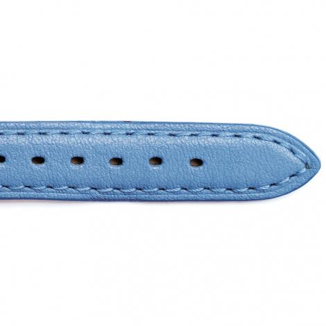 Bracelet Montre Vachette Bleu Ciel Femme - Alixe - 24201-14