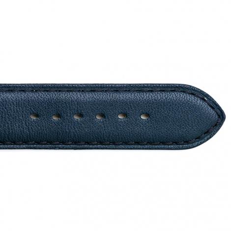 Bracelet Montre Vachette  Marine Unisexe - Holly - 14201-04