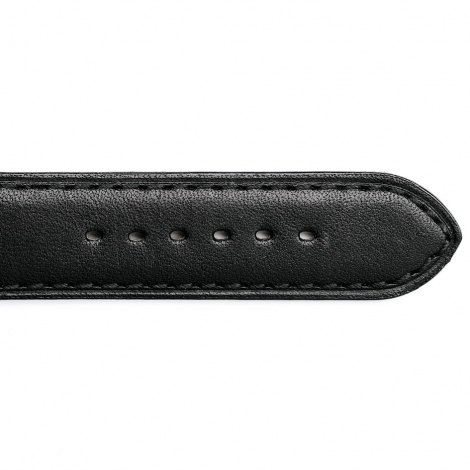 Bracelet Montre Vachette Noir Unisexe - Atsuko - 14201-01