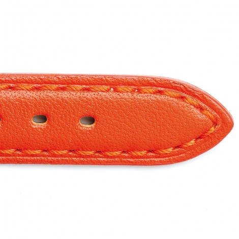 Bracelet Montre Vachette  Orange