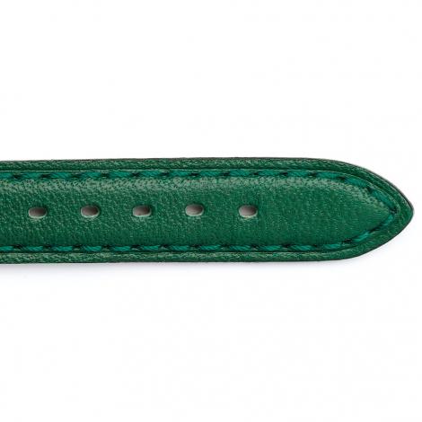 Bracelet Montre Vachette Vert foncé Femme - Moea - 24201-10