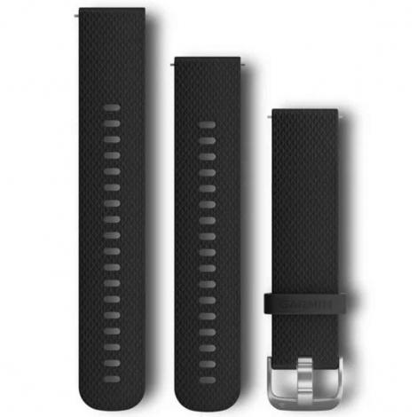 Bracelet Noir - 20mm - Garmin - 010-12561-02