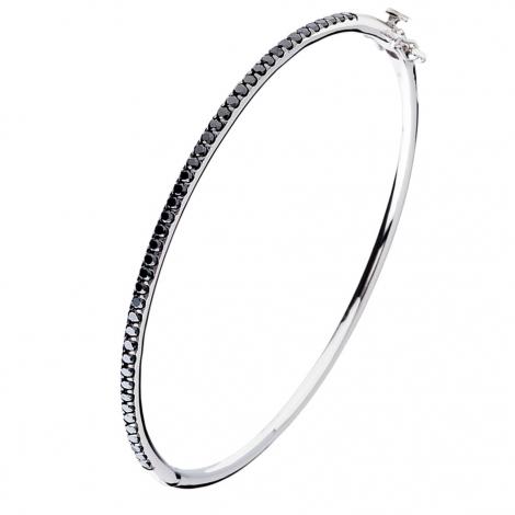 Bracelet One More diamants noirs 0.94 ct - Ischia -048911A2
