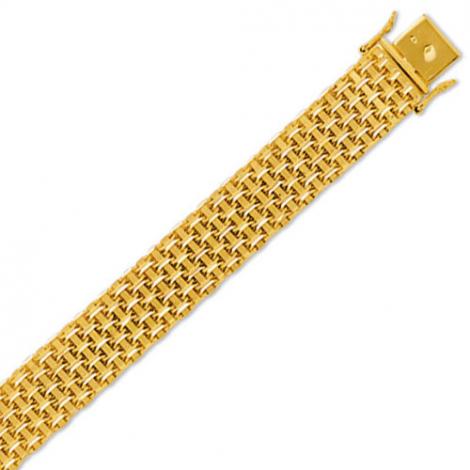 Bracelet or - 34.2g Sirèna