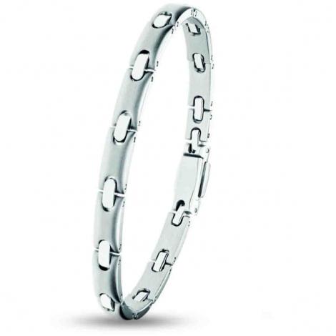 Bracelet pequignet Acier 1 rang 6 mm - 0576003