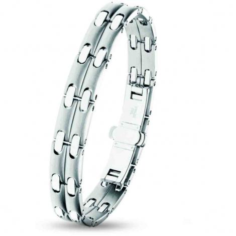 Bracelet pequignet Acier 2 rangs 10 mm - 0580003