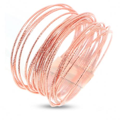 Bracelet Pesavento DNA Spring DGrand Rosé - Vahiria - WDNAD324