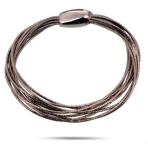 Bracelet Pesavento DNA Spring Petit Ruthénium - Tahiata - WDNAB052