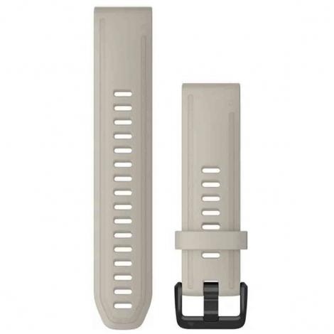 Bracelet QuickFit® Gris Beige - 20mm - Garmin - 010-12869-00