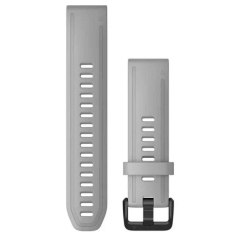 Bracelet QuickFit® Gris poudré - 20mm - Garmin - 010-12866-00