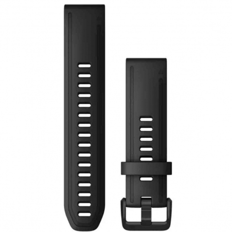 Bracelet QuickFit® Noir - 20mm - Garmin - 010-12867-00