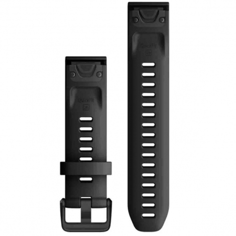 Bracelet QuickFit® Noir - 20mm - Garmin