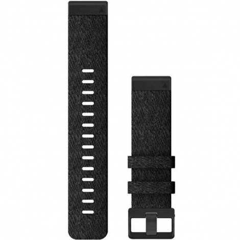 Bracelet QuickFit® Nylon Black - 22mm - Garmin - 010-12863-07