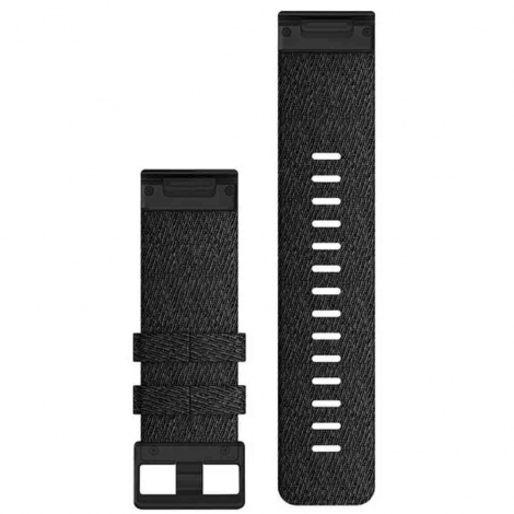 Bracelet QuickFit® Nylon Noir - 26mm - Garmin