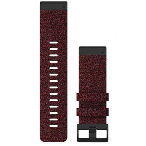 Bracelet QuickFit® Nylon Rouge - 26mm - Garmin - 010-12864-06