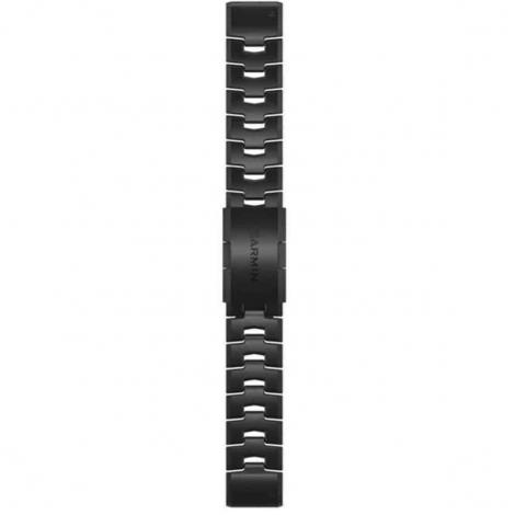 Bracelet QuickFit® Titane et carbone - 22mm - Garmin - 010-12863-09