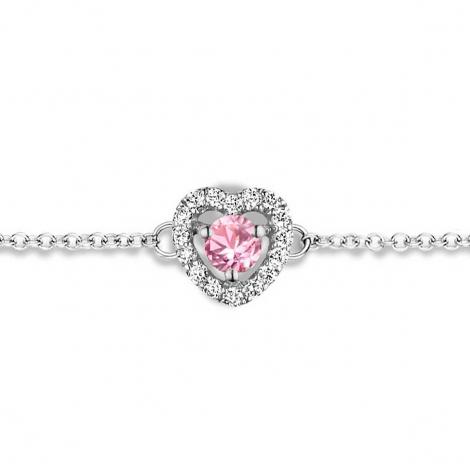 Bracelet Saphir Rose et Diamants- One More  0.07 ct - Salina -063070XA
