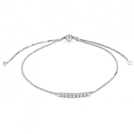 Bracelet Tennis 0.05 ct Diamant Blanc G-VS en Or Jaune - Vaiarava - B2765