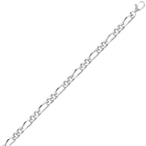Chaine Argent maille Alternée 12.5g - 3 mm - Amélia - 301271C