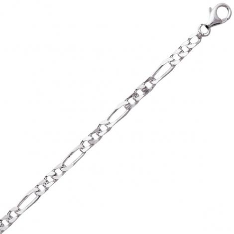 Chaine Argent maille Alternée 12.9g - 3 mm - Solène - 301214C