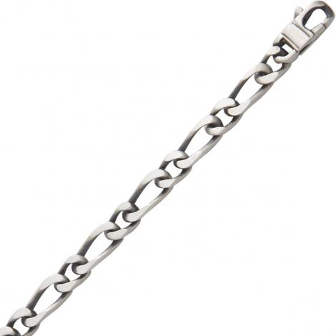 Chaine Argent maille Alternée 26g - 5 mm - Flavie - 201483C.1