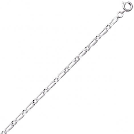 Chaine Argent maille Alternée 5.4g - 2.5 mm - Clarissa - 301264C