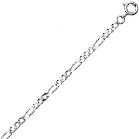 Chaine Argent maille Alternée 6.4g - 2.50 mm - Artémis - 301213C