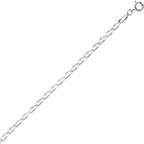 Chaine Argent Maille Cheval 3.1g - 2 mm -Alba - 301650C