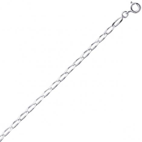 Chaine Argent Maille Cheval 3.55g - 2.50 mm -Hideki - 301207C