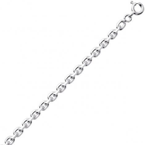 Chaine Argent Maille Forçat 3.28g Aïna - 301202C