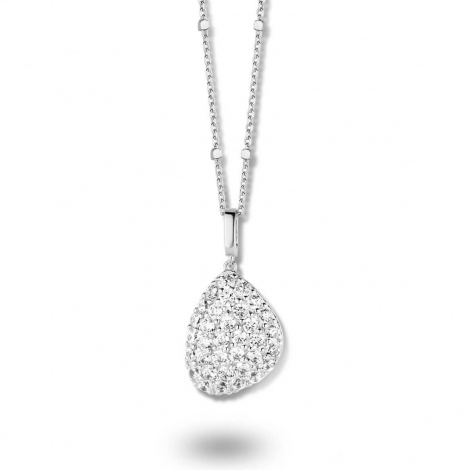 Collier argent et oxydes Naiomy Silver - Femme - Ondine - N8B03