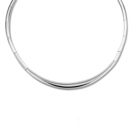 Collier argent Naiomy Silver - Femme - Vahiti - N9P04