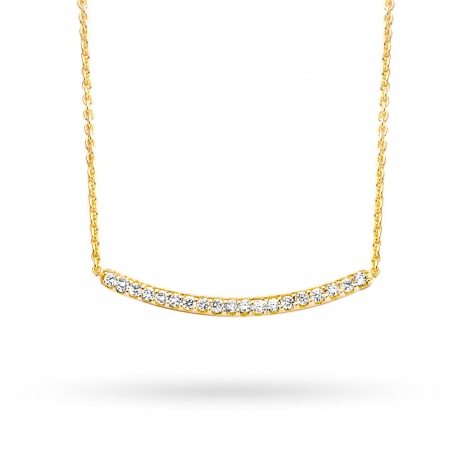 Collier  diamant 0.075 ct One More Ischia 052415A