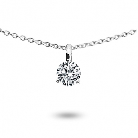 Collier diamant 0.15 ct Or Jaune 1.2g Kendra