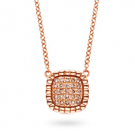 Collier  diamant 0.16 ct One More Cimini 051587A3
