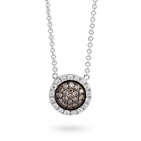 Collier  diamant 0.21 ct One More Cimini 050776A3
