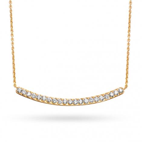 Collier  diamant 0.23 ct One More Ischia 052417A