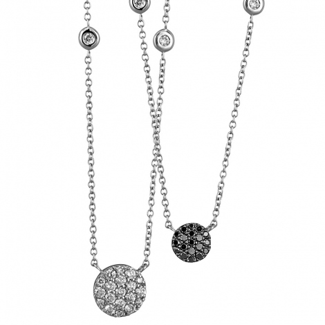 Collier One More diamants 0,56ct