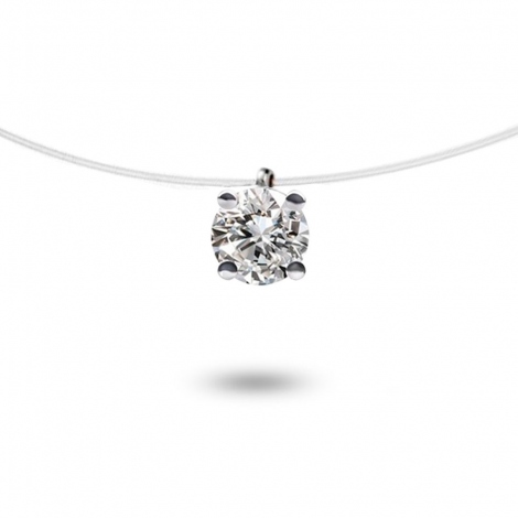Collier diamant Nylon 0.15 ct  0.37g Paola