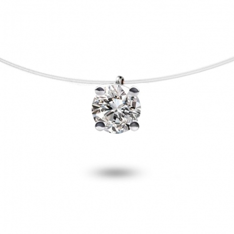 Collier diamant Nylon 0.20 ct  0.39g Maryane