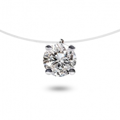 Collier diamant Nylon 0.40 ct  0.47g Irina