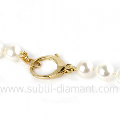 Collier de Perles 6.5 mm