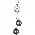 Collier perle Tahiti 7-8 mm Tropica