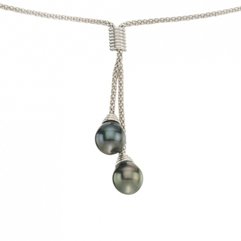 Collier perle Tahiti 9-10 mm Anata