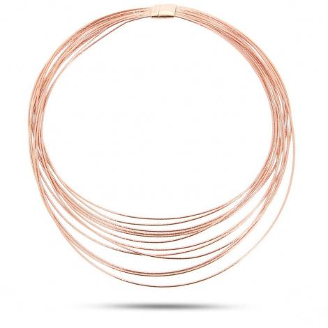Collier Pesavento DNA Spring Dégré Moyen Rosé - Océana - WDNAG034