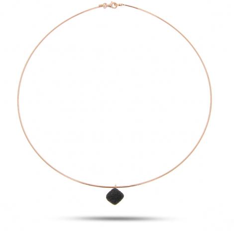 Collier Pesavento DNA Spring Jolie - Noir - Nolwenn - WDNAG061